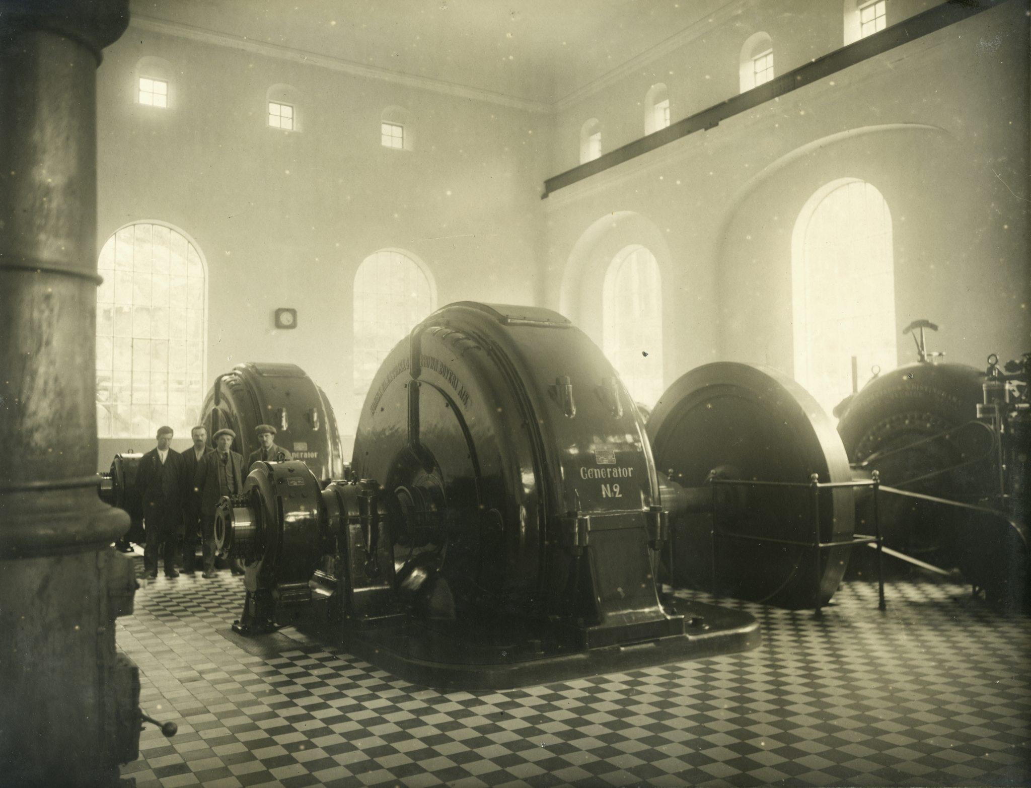 Gamle generatorar